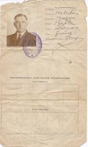 homer a speer sr travel document argentina0001