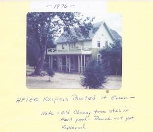 HARTWICK HOUSE 1976