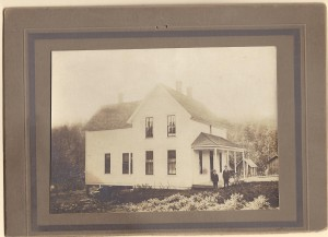Harwick Farm House with Ferdinand and John Hartwick Banks Oregon